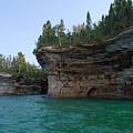 Battleship Row Rocks by Linda Kerkau