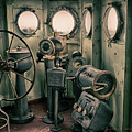 Battleship Texas Helm by Charles McKelroy