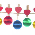 Baubles On A Line by Helen Northcott