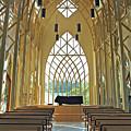 Baughman Meditation Center - Inside Rear by Farol Tomson