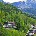 Bavarian Mountainside by Ann Horn