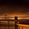 Bay Bridge At Night by Daniel Murphy