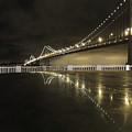 Bay Bridge San Fransico by Coleman Mattingly