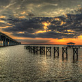 Bay Bridge Sunset by Beth Gates-Sully