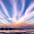 Bay Farm Island Sunrise by Her Arts Desire