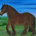 Bay Horse by Anna Folkartanna Maciejewska-Dyba