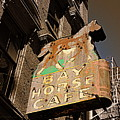 Bay Horse Cafe Sign by Kathy Barney