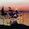 Bay Of Fundy Sunset by Kenneth M  Kirsch