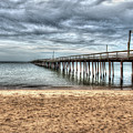Bay Side Lynnhaven Fishing Pier by Greg Hager