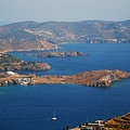 Bay View On Patmos Island Greece by Just Eclectic