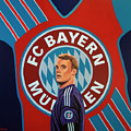 Bayern Munchen Painting by Paul Meijering
