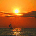 Bayfield Sunset - 1 by Brian Shaw