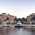 Bayfront Shopping Center And Marina by Rob Tilley