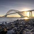 Bayonne Bridge Sunset by Michael Ver Sprill