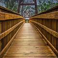Bayou Foot Bridge by James Woody