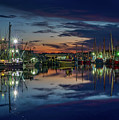 Bayou Reflections At Dusk #2 by Brad Boland
