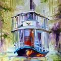 Bayou Taxi Waterscape by Marcia Baldwin