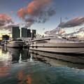 Bayside Sunset by Yhun Suarez