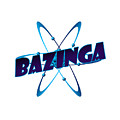 Bazinga - Big Bang Theory by Bleed Art