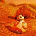 Bb-8 In The Desert - Pa by Leonardo Digenio
