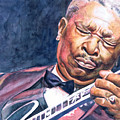 Bb King by Adrienne Norris