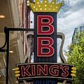 Bb King's Blues Club - Honky Tonk Row by Debra Martz