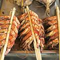 Bbq Fresh Grilled Prawns In Kep Market Cambodia by Jacek Malipan