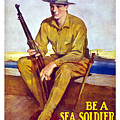 Be A Sea Soldier - Us Marine by War Is Hell Store