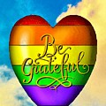 Be Grateful Gay Heart by Linda Todd