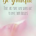 Be Grateful by Ramona Murdock