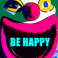 Be Happy Clown 2 by David Lee Thompson