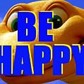 Be Happy Dino by David Lee Thompson