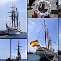 B.e. Juan Sebastian De Elcano by Mike Poland