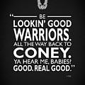 Be Lookin Good Warriors by Mark Rogan