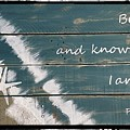 Be Still And Know That I Am God. by Chris Lewis