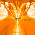 Be The Light - Josea Golden by Artistic Mystic
