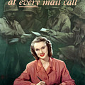 Be With Him At Every Mail Call by War Is Hell Store
