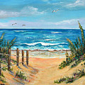 Beach Access by Trisha Calabrese