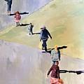 Beach Angles 4 by Judy Pfeifer