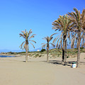 Beach At Cabopino by Kevin Richardson