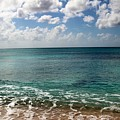Beach At Grand Turk by Robert Smith
