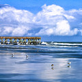 Beach At Isle Of Palms by Dominic Piperata