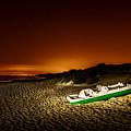 Beach At Night by Peter Hayward Photographer