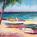 Beach At Progreso by Candy Mayer