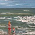 Beach Babes by Pete Maier