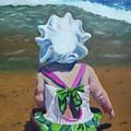 Beach Baby In Bonnet by Jill Ciccone Pike