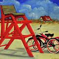 Beach Bikes by Carolyn Shireman