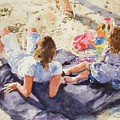 Beach Blanket by Debra Jones