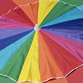 Beach Brolly by Ann Horn