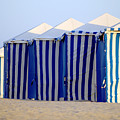 Beach Cabanas by Jill Reger